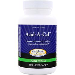 ENZYMATIC THERAPY Acid-A-Cal 100 caps
