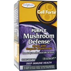ENZYMATIC THERAPY Cell Forte Purple Mushroom Defense 120 caps