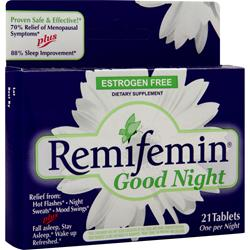 Enzymatic Therapy Remifemin Good Night 21 tabs
