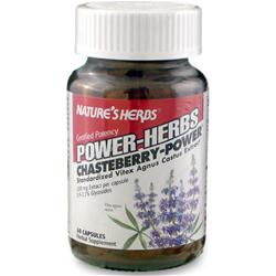 NATURE'S HERBS Chaste Berry - Power 60 caps