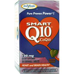 ENZYMATIC THERAPY Smart Q10 (100mg) Chocolate 30 tabs