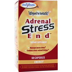Enzymatic Therapy Adrenal Stress End 60 caps
