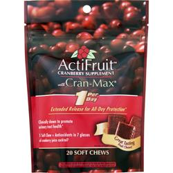 Enzymatic Therapy ActiFruit with Cran-Max 20 unit