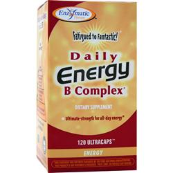 Enzymatic Therapy Daily Energy B Complex 120 caps