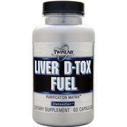 TWINLAB Liver D-Tox Fuel 60 caps