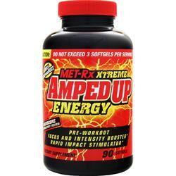 MET-RX Xtreme AmpedUp Energy 90 sgels