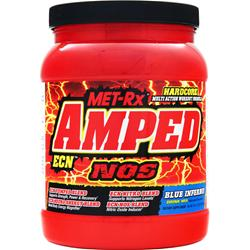 MET-RX Amped ECN Drink Mix Blue Inferno 2 lbs
