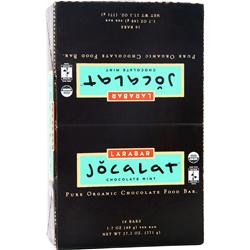 LARA BAR Jocalat Bar Chocolate Mint 16 bars