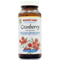 NATURE'S HERBS Cranberry Whole Fruit 100 caps
