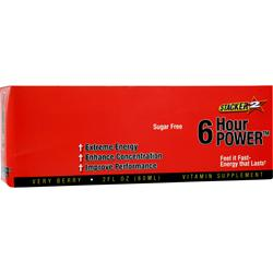 Nve Pharmaceuticals Stacker 2 - 6 Hour Power (Sugar Free) Verry Berry 12 bttls