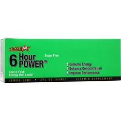 NVE PHARMACEUTICALS Stacker 2 - 6 Hour Power (Sugar Free) Lemon Lime 12 bttls