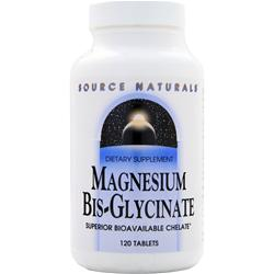 SOURCE NATURALS Magnesium Bis-Glycinate 120 tabs