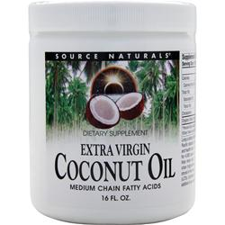 SOURCE NATURALS Extra Virgin Coconut Oil Liquid 16 oz