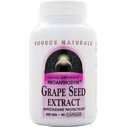 Source Naturals Proanthodyn Grape Seed Extract (200mg) 90 caps