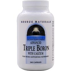 SOURCE NATURALS Advanced Triple Boron with Calcium 240 caps