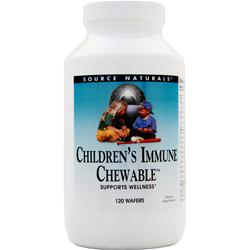 SOURCE NATURALS Children's Immune Chewable 120 wafrs
