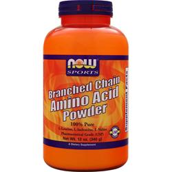 NOW Branched Chain Amino Acid Powder 12 oz