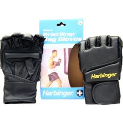 HARBINGER WristWrap Bag Glove Black (L) 2 glove