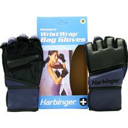 HARBINGER Women's WristWrap Bag Glove Indigo (M) 2 glove