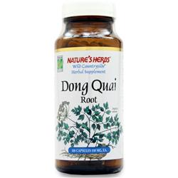 NATURE'S HERBS Dong Quai Root - Chinese 100 caps