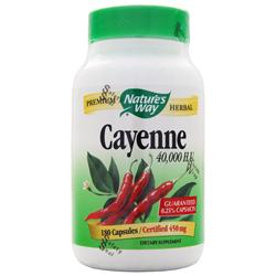 NATURE'S WAY Cayenne (450mg) 180 caps