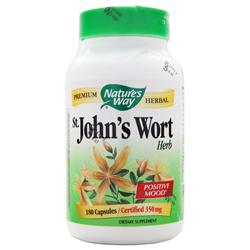 Nature's Way St. John's Wort (350mg) 180 caps