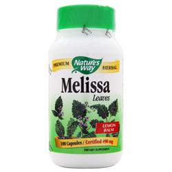NATURE'S WAY Melissa (Lemon Balm) 100 caps