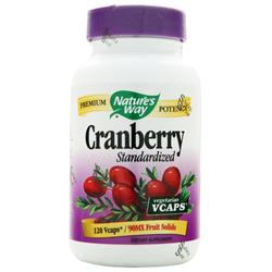 Nature's Way Cranberry Extract - Standardized 120 vcaps
