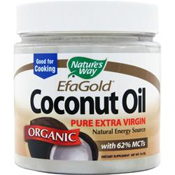 Nature's Way Pure Extra Virgin Coconut Oil (Organic) 16 oz