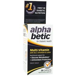 NATURE'S WAY Alpha Betic Multi-Vitamin 30 cplts