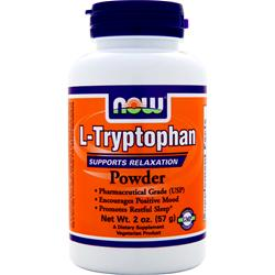 NOW L-Tryptophan Powder 2 oz