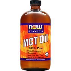 Now MCT Oil Liquid 100% Pure 32 fl.oz