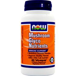 NOW Mushroom Glyco Nutrients 60 vcaps