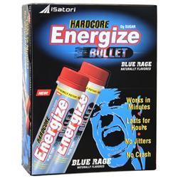 Isatori Hardcore Energize Bullet Blue Rage 12 vials