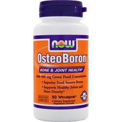 Now OsteoBoron 90 vcaps