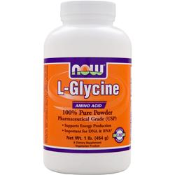 NOW L-Glycine Powder 1 lbs