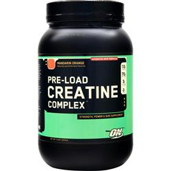 Optimum Nutrition Pre-Load Creatine Complex Mandarin Orange 4 lbs