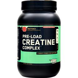 Optimum Nutrition Pre-Load Creatine Complex Fruit Punch 4 lbs