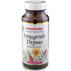 NATURE'S HERBS Fenugreek-Thyme 100 caps