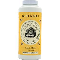Burt's Bees Baby Bee Dusting Powder Talc Free 7.5 oz