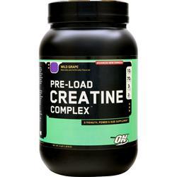 OPTIMUM NUTRITION Pre-Load Creatine Complex Wild Grape 4 lbs