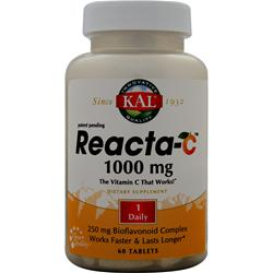 KAL Reacta-C (1000mg) 60 tabs