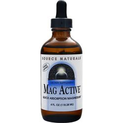SOURCE NATURALS Mag Active 4 fl.oz