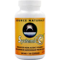 Source Naturals Systemic-C (500mg) 120 caps
