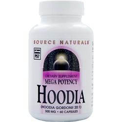 SOURCE NATURALS Mega Potency Hoodia (500mg) 60 caps