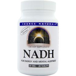 Source Naturals NADH (20mg) 20 tabs