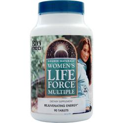 SOURCE NATURALS Women's Life Force Multiple (Iron Free) 90 tabs