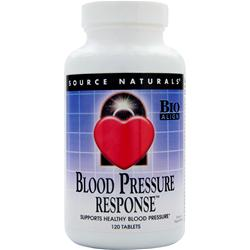 SOURCE NATURALS Blood Pressure Response 120 tabs