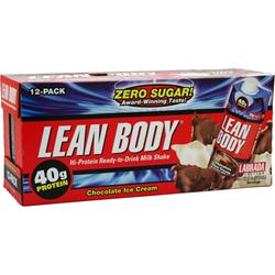 LABRADA Lean Body RTD (17 fl. oz.) Chocolate Ice Cream 12 cans