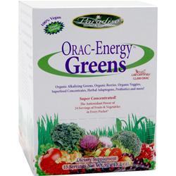 Paradise Herbs Orac-Energy Greens Powder 15 pckts